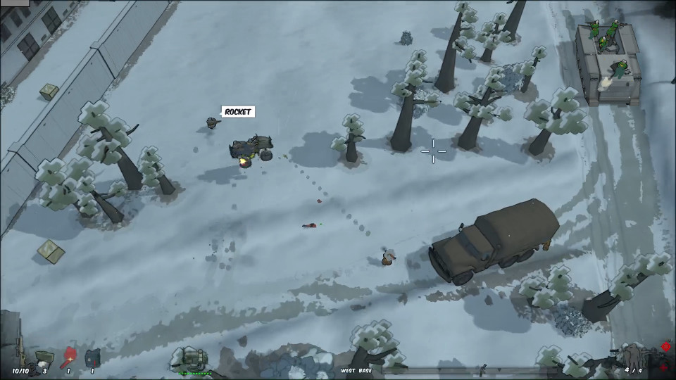 RUNNING WITH RIFLES | Open world top-down tactical shooter for